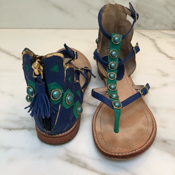 "a276c2415d96 kate spade Shoes - Kate Spade ""Peacock"" sandals. Size 6"